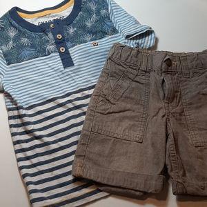 ⭐ Genuine kids by OshKosh 2 piece outfit